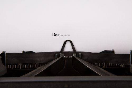 Dear ....