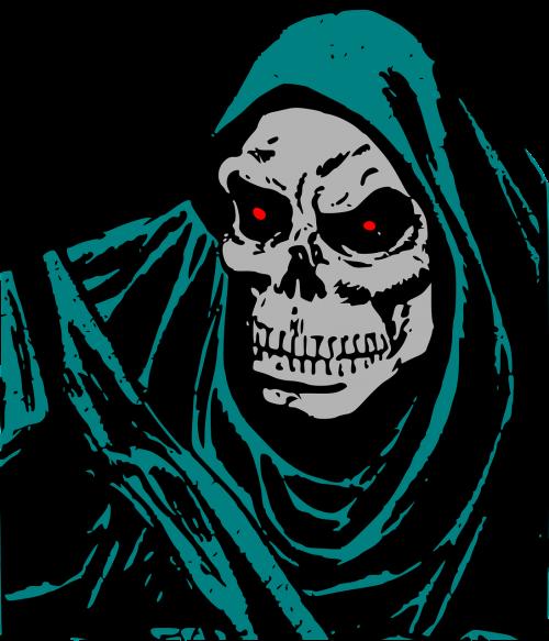 death evil face