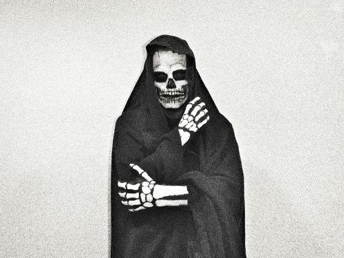death scary skull