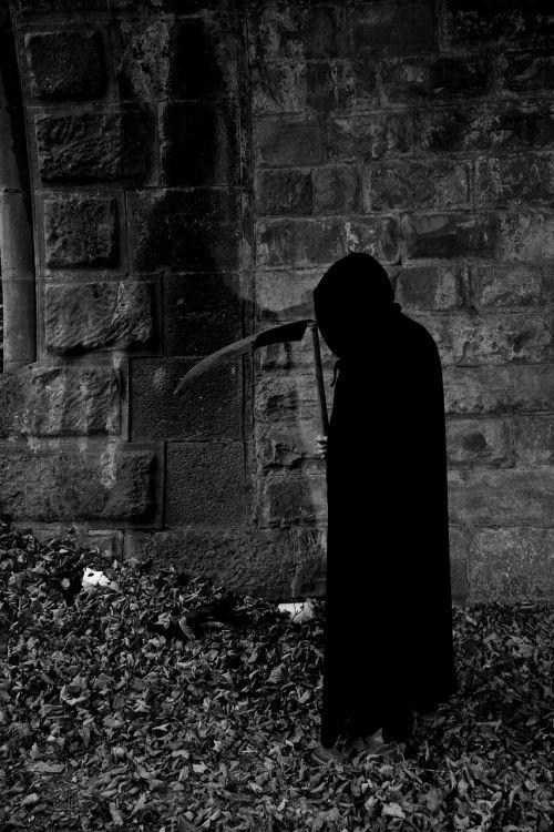 death horror cutter man