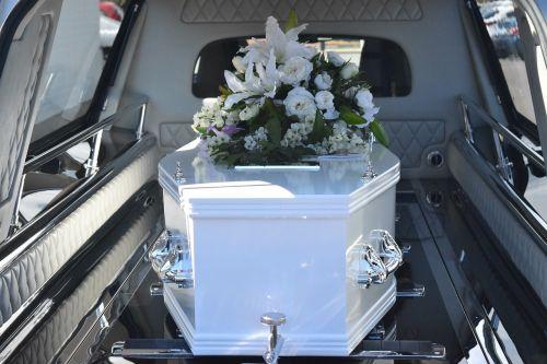 death funeral coffin