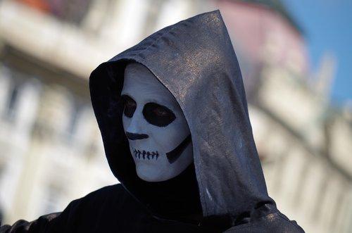 death  mask  evil
