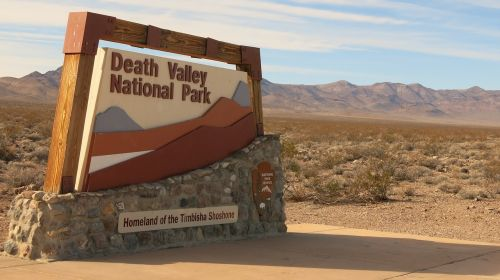 death valley national park valley