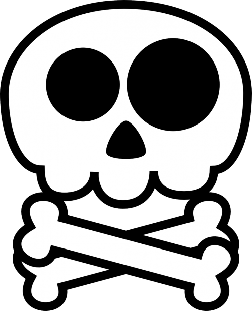 death's head skull skull and crossbones