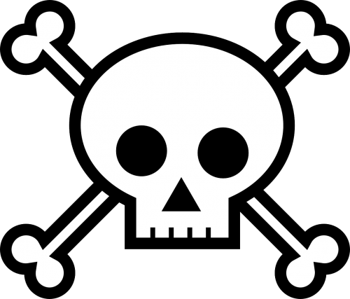 death's head bones crossbones