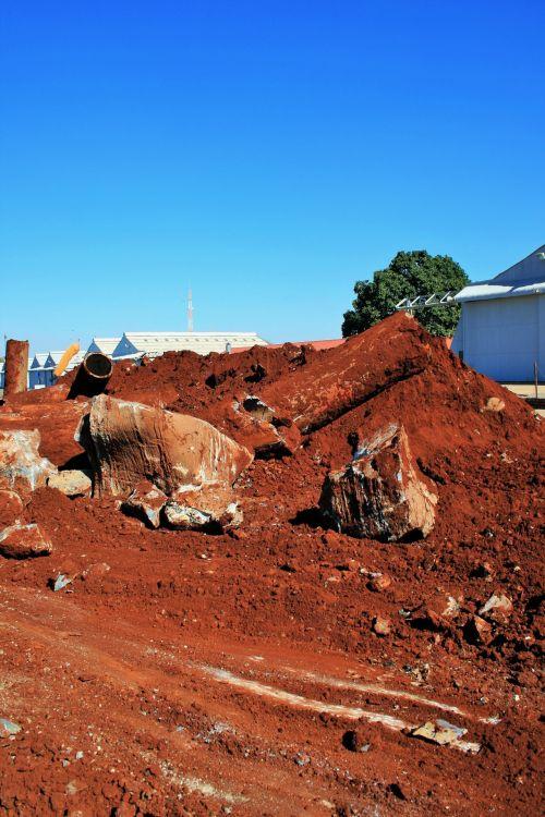 Debris And Soil