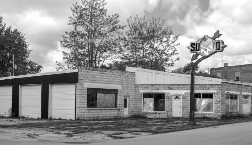 Decaying Gas Station