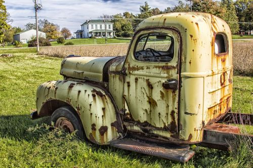 Decaying Truck
