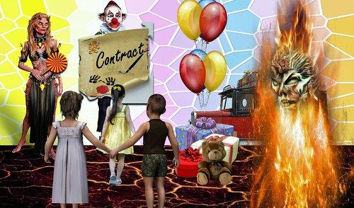 deceit  children  fake