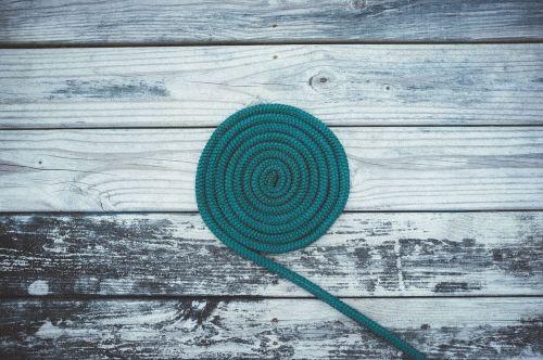 deck rope spiral