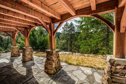 deck stone construction
