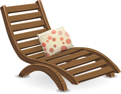 deckchair lawn chair lounge chair