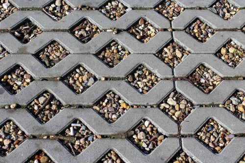 decking trotuar pebbles