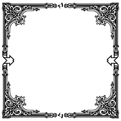 Deco Black Frame