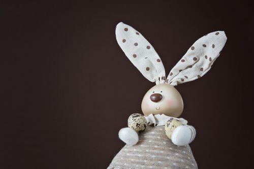 deco-hase easter bunny quail eggs