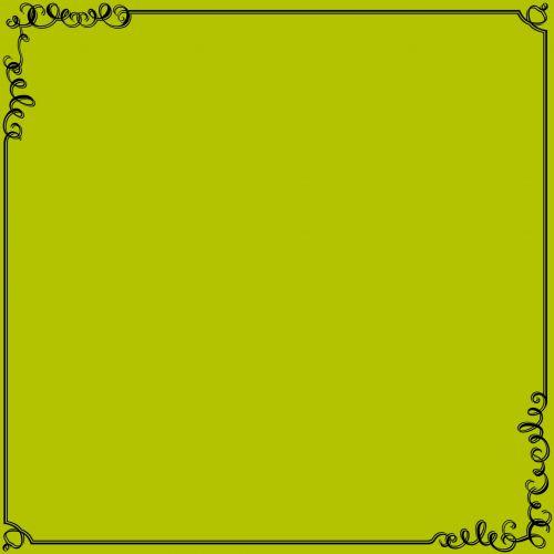 deko, nuotrauka, vaizdas, rėmas, šluota, geltona, fonas, kvadratas, dekoratyvinis, menas, niekas, simetriškas, piešimas, deko foto rėmelis