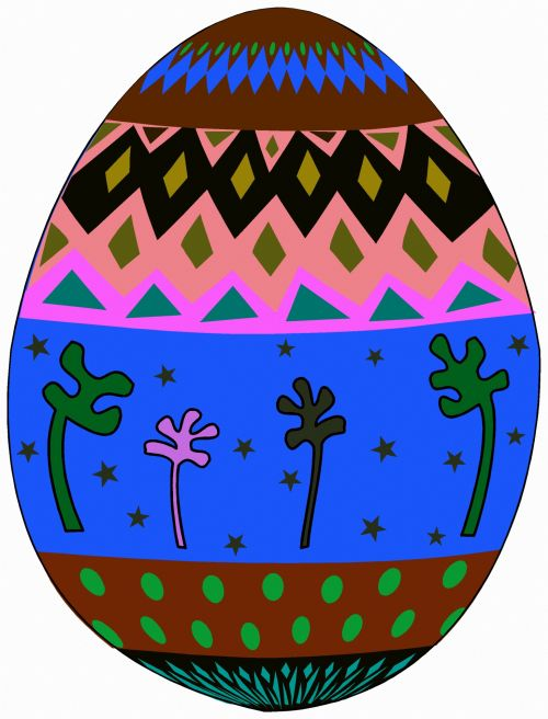 Decorated Egg 8