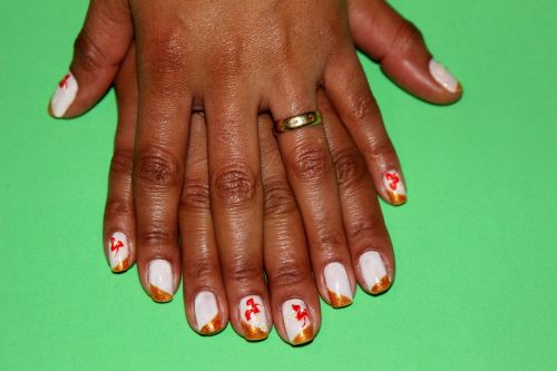 decorated nails artistic nails fashion