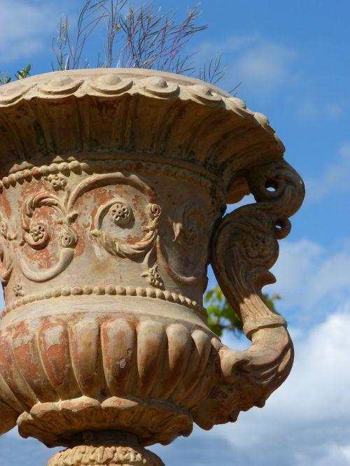 decoration planter terracotta