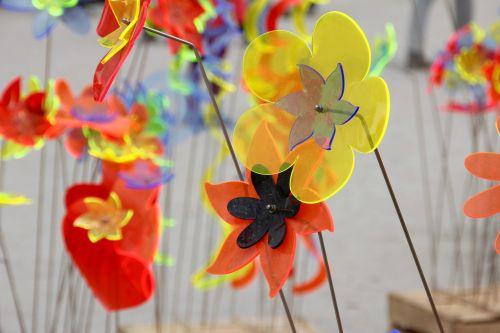 decoration flowers plastic