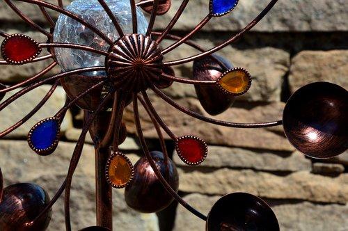 decoration  pinwheel  windspiel