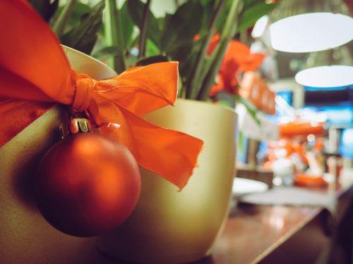 decorations balls lights