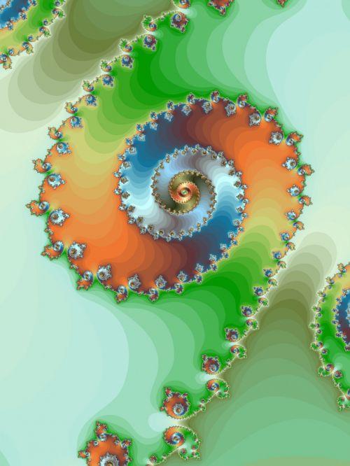 Decorative Fractal Helix