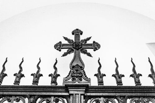 decorative gate cross gate