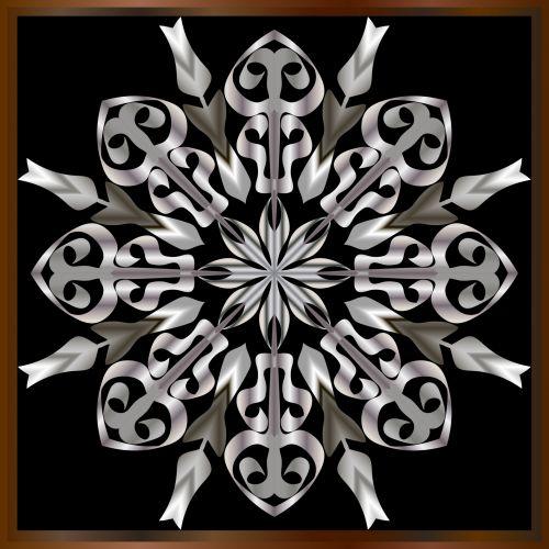 metalas, apdaila, sidabras, dekoratyviniai metalo gaminiai. sidabras