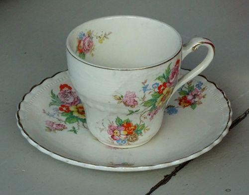 Decorative Tea Cup And Saucer
