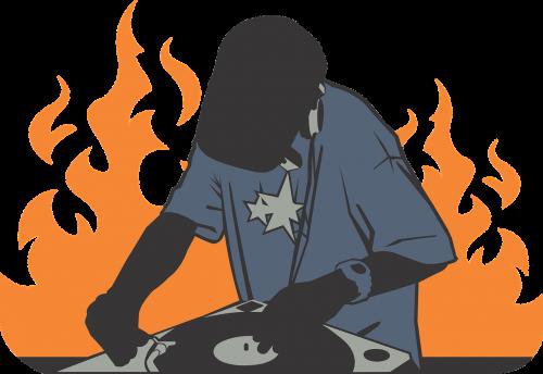 deejay fire orange