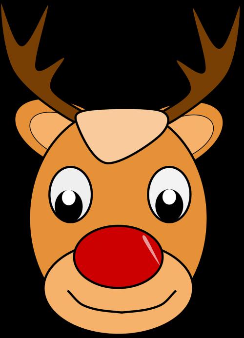 deer rudolph santa claus