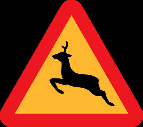 deer crossing warning deer crossing caution deer crossing