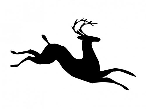 Deer Stag Stylized