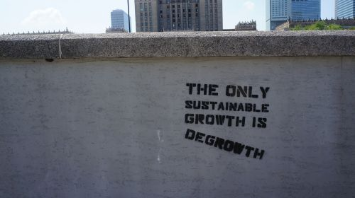 degrowth sustainability growth