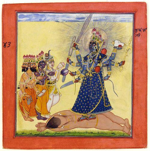 deity goddess indian