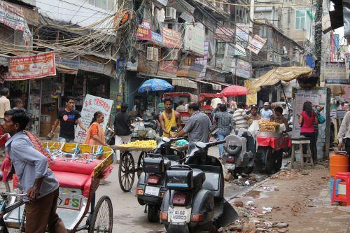 delhi road india