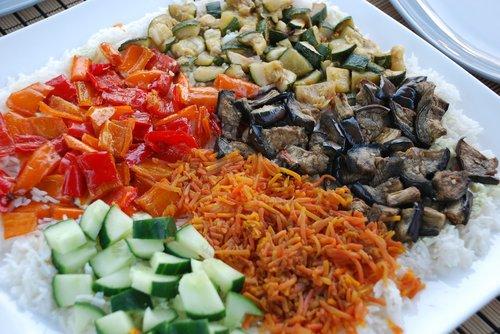 delicious  salad  healthy
