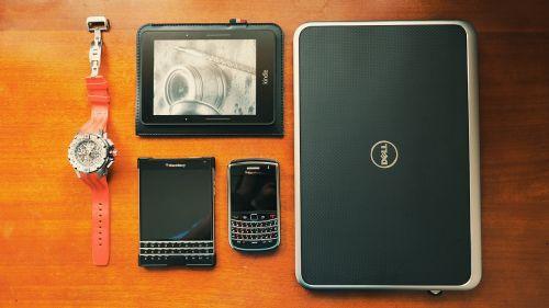 dell laptop blackberry