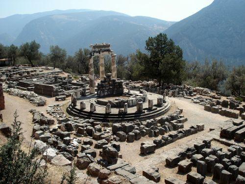 delphi ancient site greece