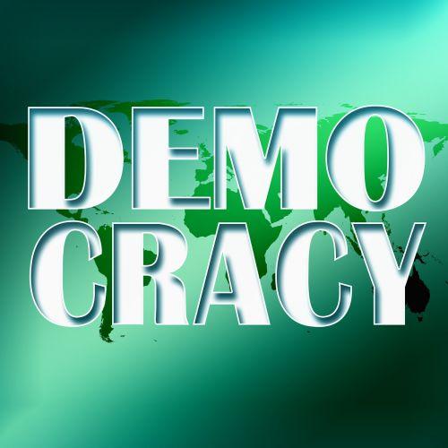 demokratie symbol policy