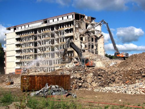 demolition sanitation building demolition