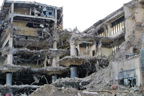 demolition building destruction