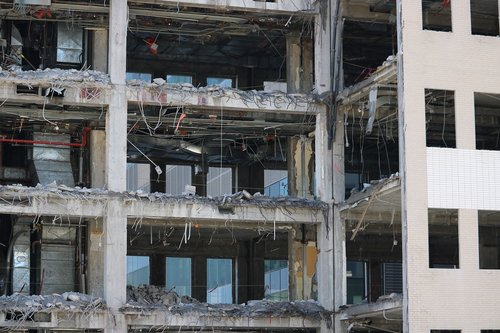 demolition  building  city