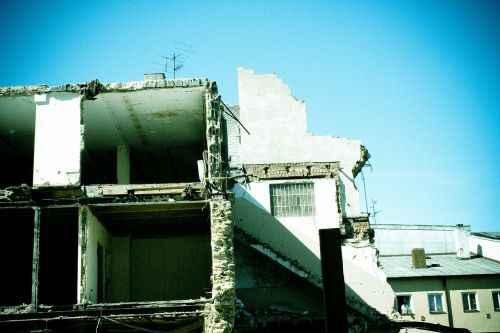 demolition disassembly home