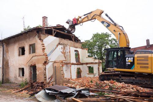 demolition collapse broken