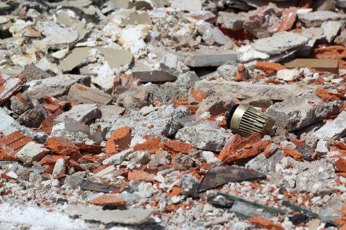 demolition house debris thermostat