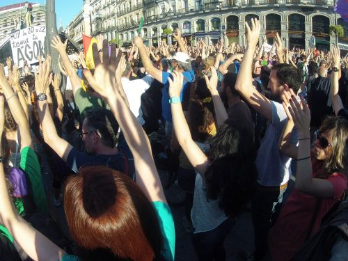 demonstration people plaza