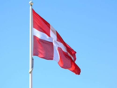 denmark danish kingdom the flag of the