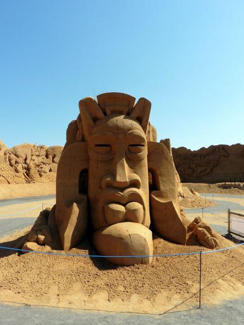 denmark sand sculpture søndervig